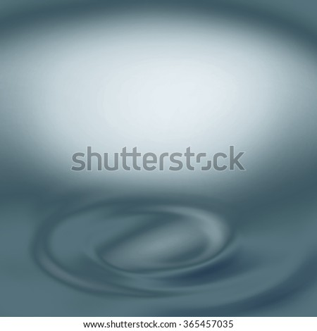 blue abstract background splash water or swirl decorative element and bright copy space - stock photo
