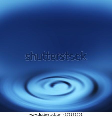 blue abstract background splash water splash or swirl background - stock photo