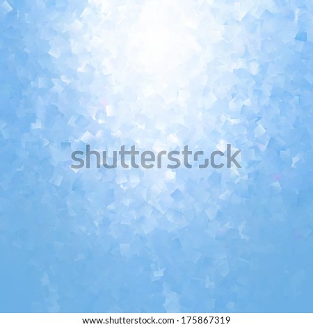 blue abstract background subtle cubes pattern texture - stock photo