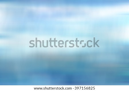 blue abstract blur background, with defocused bokeh - stock photo