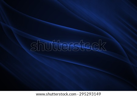 blue abstract line and curve background - stock photo