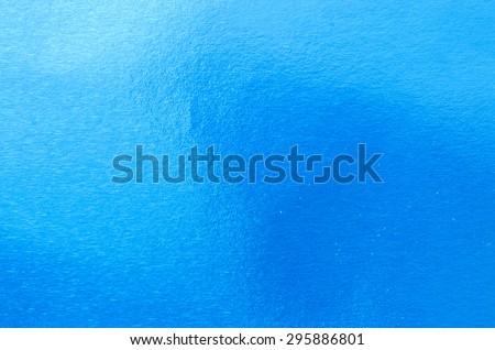 blue abstract metallic background texture - stock photo