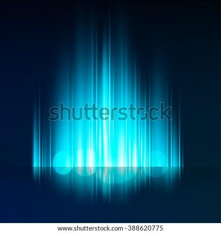 Blue Abstract shiny background. - stock photo