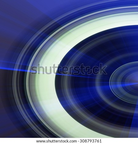 Blue Abstract Spiral Background