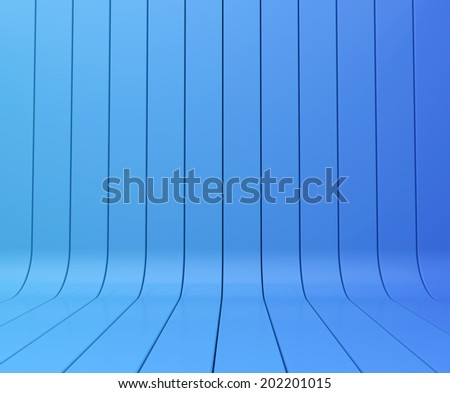 blue abstract stripe background - stock photo