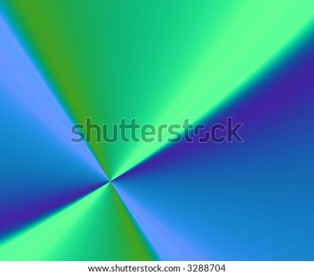 blue and green background with diagonal lines and 3d effect