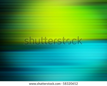 Blue and green contrast background. Colors illustration