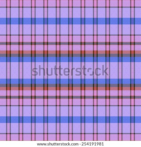 blue and pink Tartan textile seamless background  - stock photo