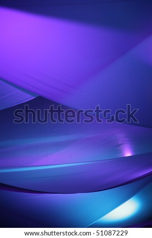 Blue and Purple Abstract Background - stock photo