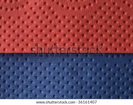 blue and red background - stock photo