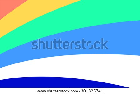 Blue and turquoise background with diagonal stripes. Horizontal minimal backdrop. Can be use for cover catalog, business card or other print. Raster version  - stock photo