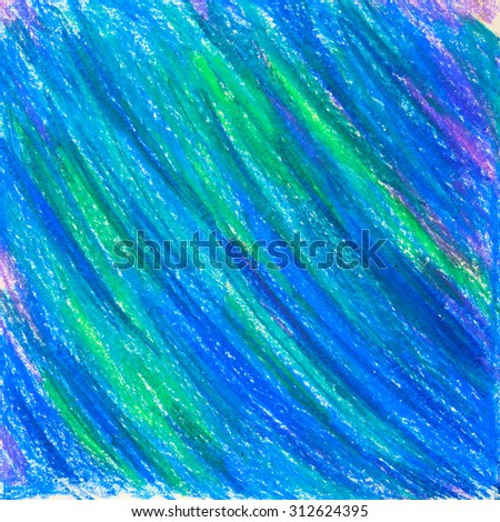 blue and turquoise painted texture - stock photo