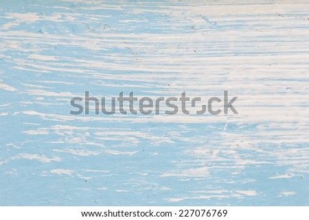 blue and white abstract background painted on wood - stock photo