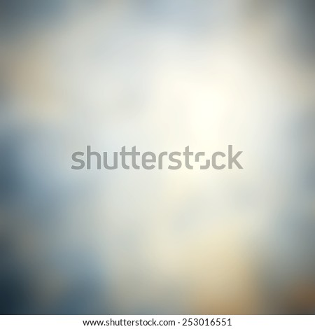 Blue and white blurred abstract background with magic lights - stock photo