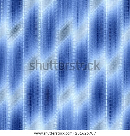blue and white seamless weaving texture pattern under glass - stock photo
