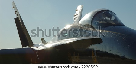 Blue Angels Jet - stock photo