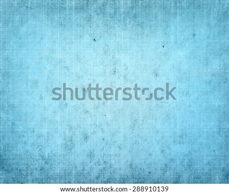 blue antique cracked paper texture - stock photo