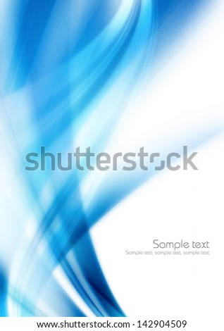 blue background for card - stock photo