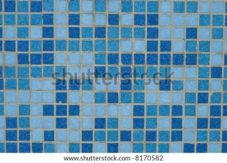 blue background from mosaic