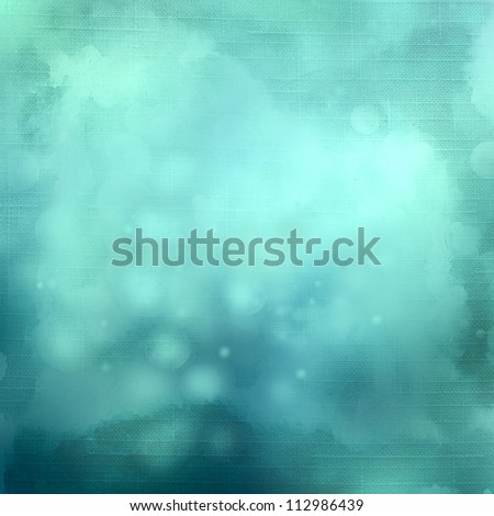 Blue background image for the photo album, photo book with the grunge blurred texture - stock photo
