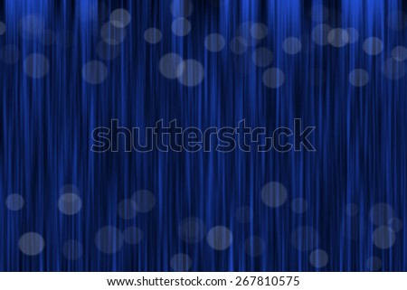 Blue background on stage - stock photo
