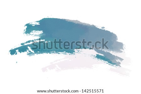 Blue background Texture on white background - stock photo