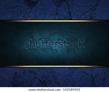 blue background with a blue plate