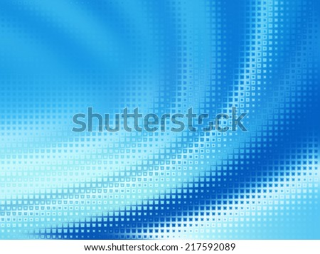 Blue background with abstract texture - stock photo
