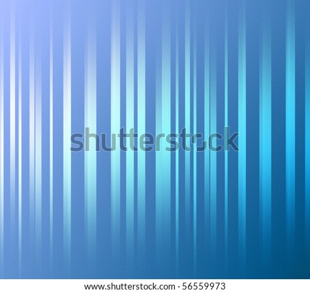 Blue background, with bright lines