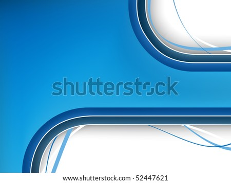 Blue Background with copyspace.