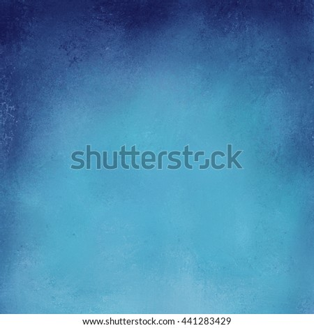 blue background with dark blue shadow border on top - stock photo