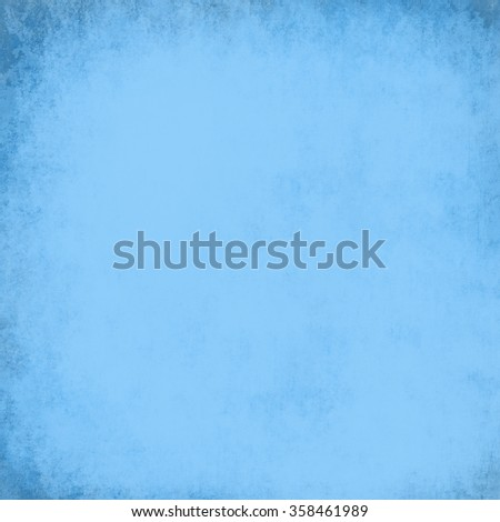 blue background with grunge texture, vintage background wall with peeling cracked and rusted paint, cool textured backdrop for graphic art designs - stock photo