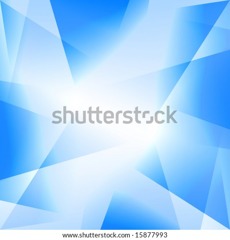 Blue background with various different shades