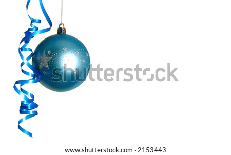 blue bauble