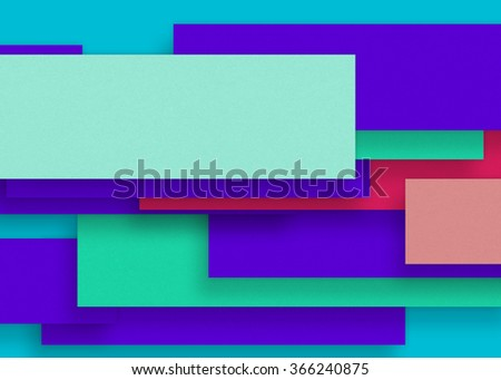 Blue blank paper background, craft material, design element