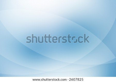 Blue blur abstract background. - stock photo