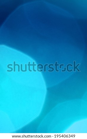 Blue blur lights background. Nice Christmas pattern. - stock photo