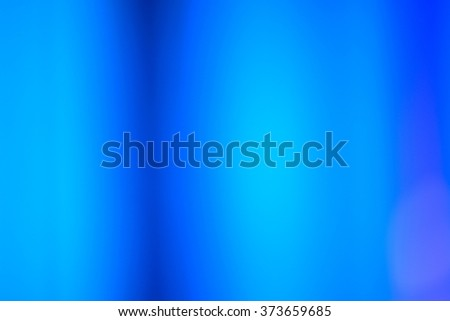 Blue Blurred Abstract Background - stock photo