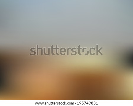 Blue blurred abstract background. Raster image. - stock photo