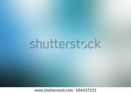 Blue blurred background. - stock photo