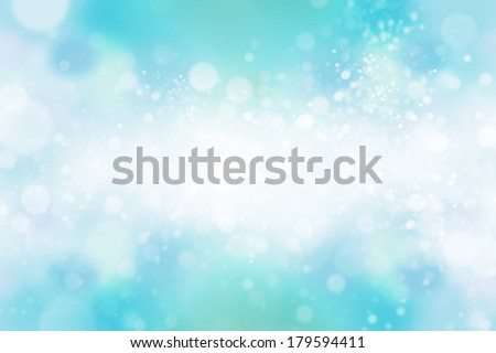 blue bokeh abstract light backgrounds - stock photo