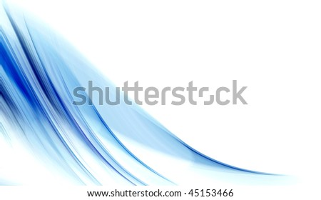 blue brushed background abstraction