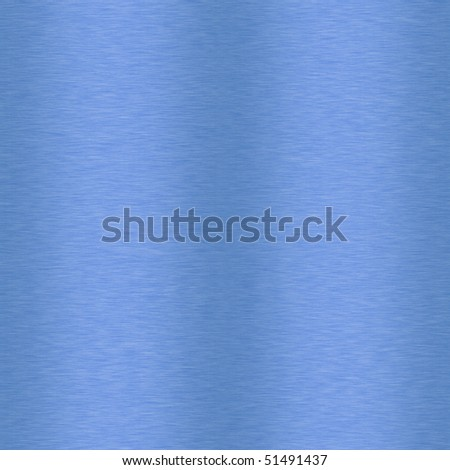 Blue Brushed Background which will tile seamlessly - stock photo