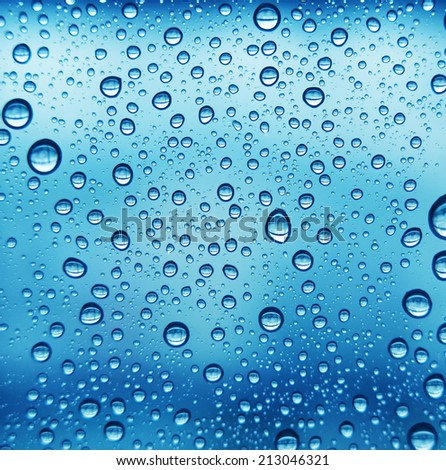 blue bubble droplet texture background  - stock photo