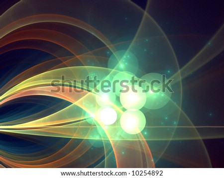 Green Glowing Orb Stock Photos Images Amp Pictures