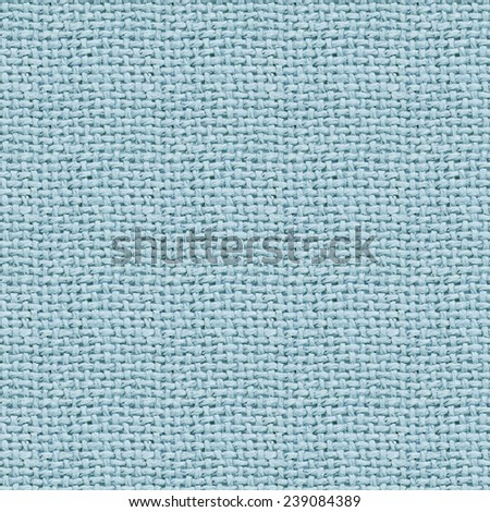 blue burlap texture digital paper  - stock photo