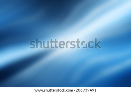 Blue burst abstract background - stock photo