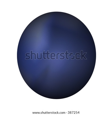 Blue button with texture and shades. Perfect for use as a button on a web page or interactive training program. - stock photo