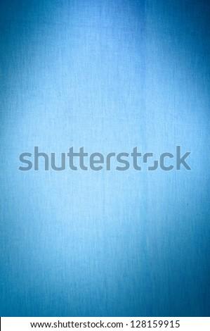 blue canvas background - stock photo