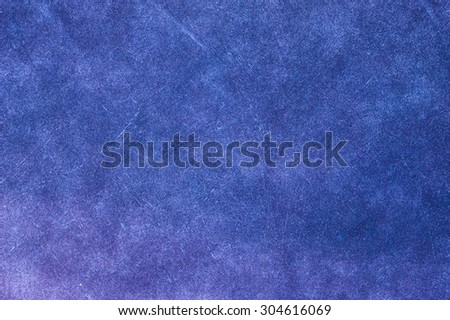 Blue canvas texture background - stock photo